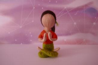 Muñeca yoga
